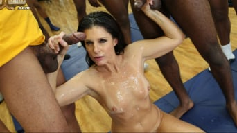 India Summer in '- Interracial Blowbang'