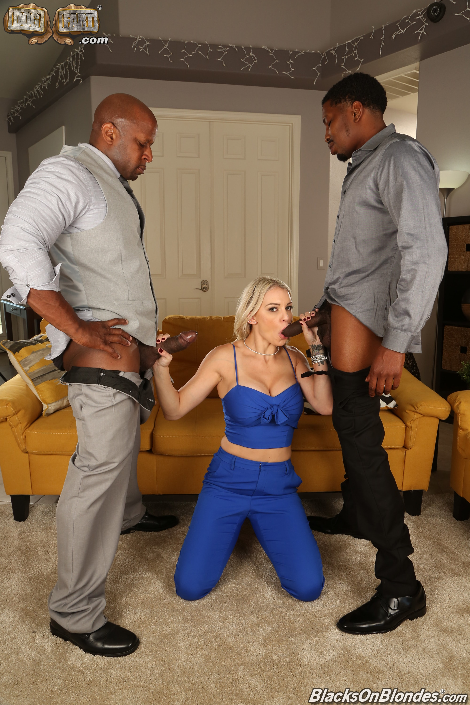Dogfart '- Blacks On Blondes - Scene 2' starring Kenzie Taylor (Photo 6)