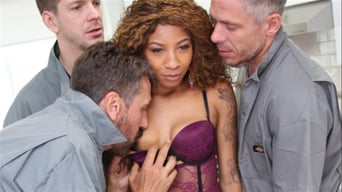 September Reign in '- We Fuck Black Girls - Scene 2'